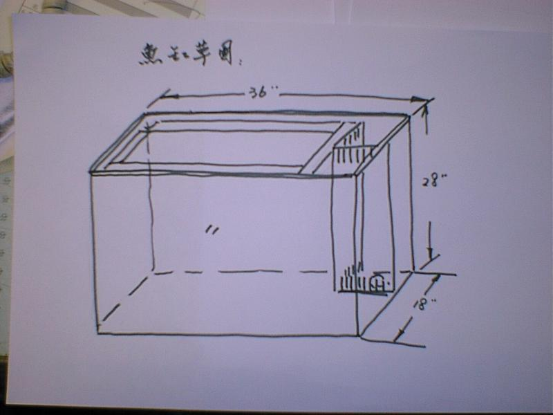 海水底缸设计展示
